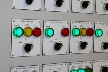 BMS Control Panel Fascia